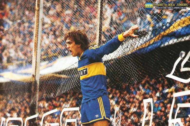 Batistuta Boca Junior