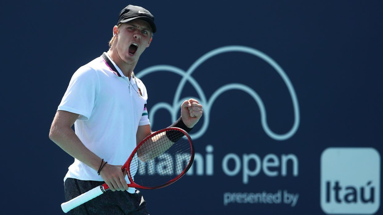 Denis Shapovalov à Miami - Source : flipboard.com