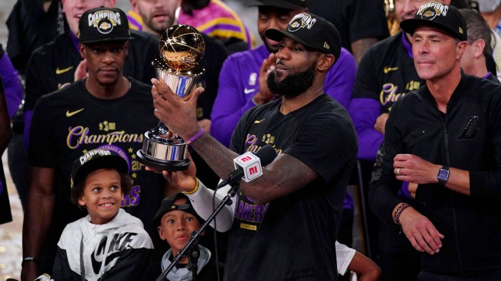 Les Los Angeles Lakers et Lebron James sont les champions NBA 2020