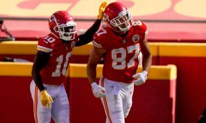 Travis Kelce et Tyreek Hill, un duo en or