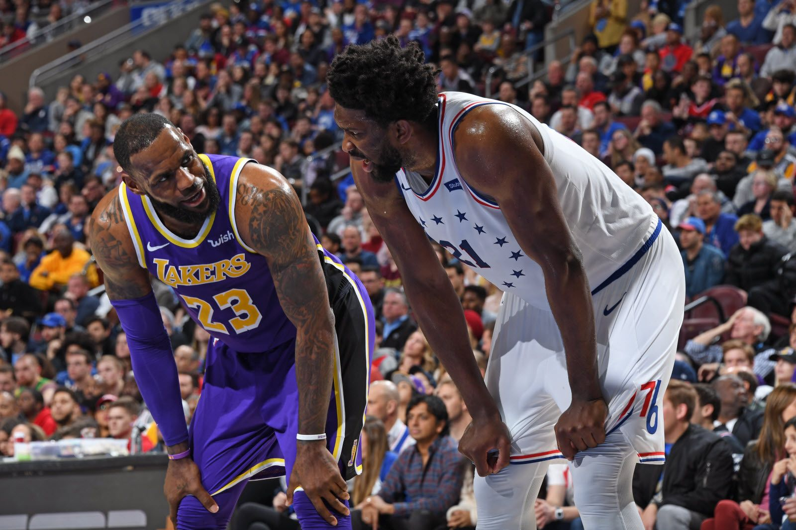 Lakers Sixers