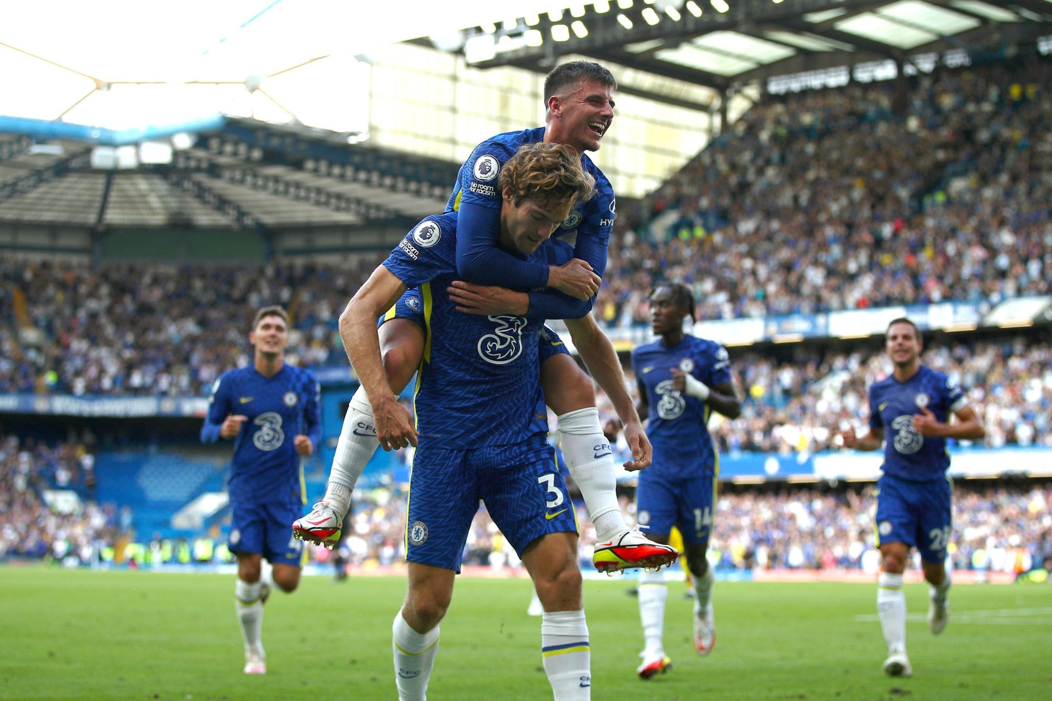 Chelsea dominates and destroys Crystal Palace