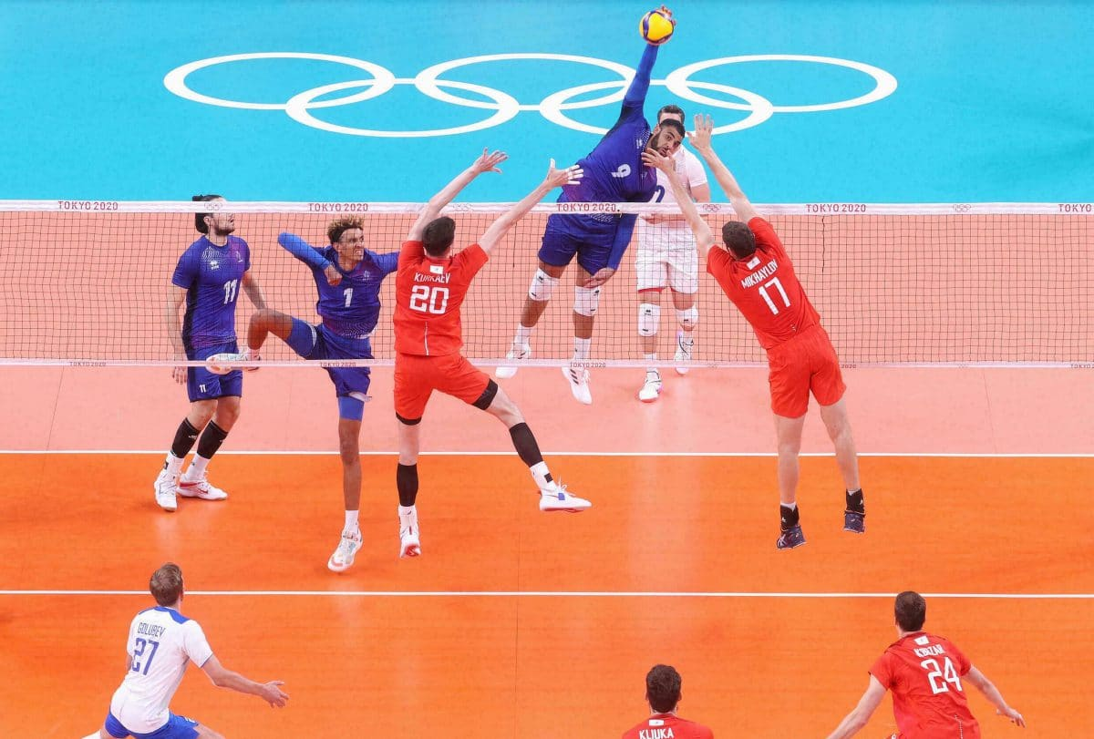 Jeux Olympiques Volley